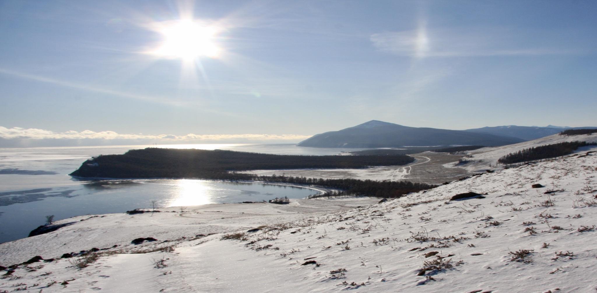 fernsein.com - Sibirien die Sonne und das Licht